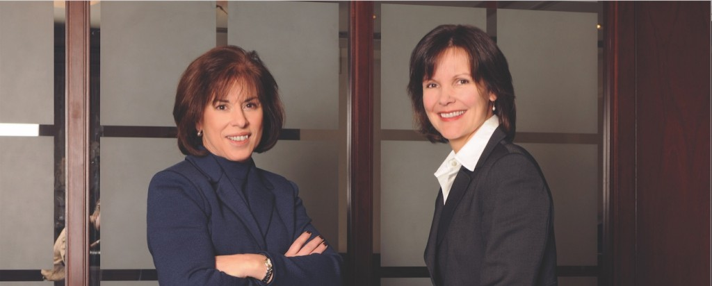 Environmental Attorneys Susan Franzetti and Jennifer Nijman in their Chicago office.